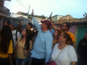 Con alegría y optismo lo recibieron en Carirubana