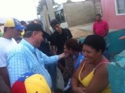 Desde Tacuato hasta Punta Cardón Stefanelli ha visitado más de 2 mill familias