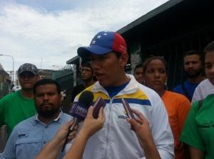 Ángel López, miembro del comando Venezuela Unida en el circuito 2 Carirubana – Los Taques anuncio la visita de Torrealba