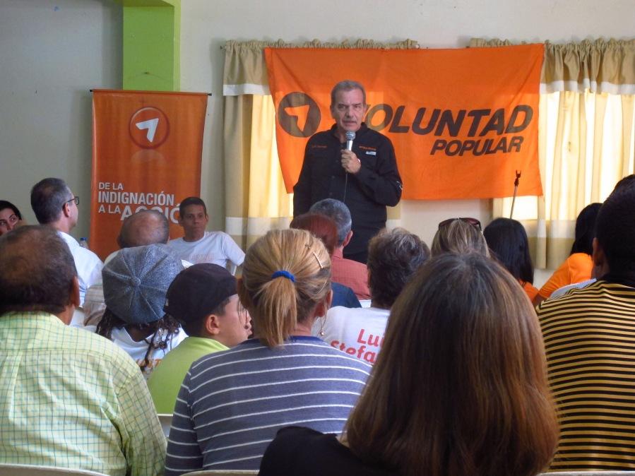 Luis Stefanelli asume la dirección regional de Voluntad Popular en Falcón